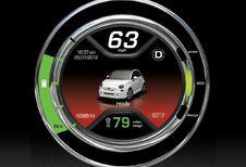 Elektrische Fiat 500 bevestigd