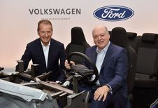 Ford en Volkswagen samen voor de autonome en elektrische auto