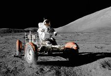 Lunar Roving Vehicle: met de auto op de maan