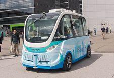 Gedaan met de autonome shuttle in Parijs en ongeval in Wenen