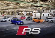 Audi Sport viert 25 jaar RS met 6 nieuwigheden #1