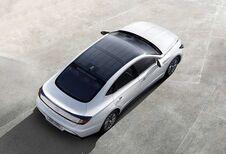 Hyundai Sonata à toit solaire : 1300 km