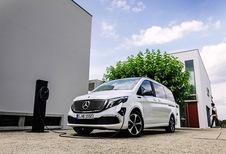Mercedes EQV : 90 kWh et 405 km