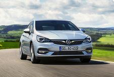 De Opel Astra facelift: motoren en prijzen