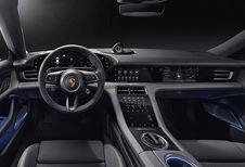 Porsche Taycan : voilà son habitacle