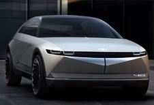 Hyundai 45 EV Concept is moderne Pony