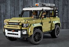Land Rover Defender ook in Lego-blokjes