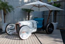 Mercedes Vision Simplex : avec parapluie