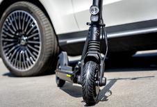 Mercedes: gamma verwelkomt e-scooter