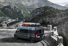 Peugeot Boxer 4x4 Concept snakt naar avontuur