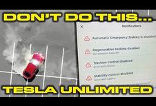 Tesla Model S : des donuts possibles !