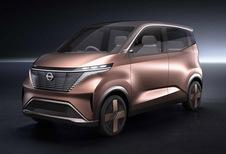 Nissan IMk Concept : citadine avec plate-forme électrique