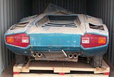 Une Lamborghini Countach Periscopio retrouvée après 40 ans