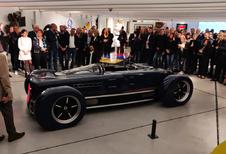 Krugger FD is Belgische retroroadster met biturbo-W12 van Bentley