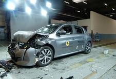 EuroNCAP : la Peugeot 208 rate les 5 étoiles