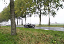 AutoWereld in de Zoute Rally met Mercedes 300 SL Gullwing