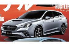 Subaru Levorg: tweede generatie lekt uit voor Tokio