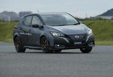 Nissan Leaf à 2 moteurs et transmission intégrale