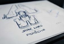Porsche maakt een ruimteschip voor Star Wars