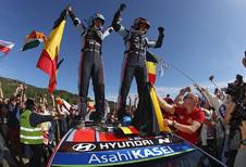 Neuville wint rally van Spanje, maar Tänak is wereldkampioen