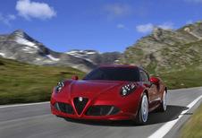Alfa Romeo 4C : la fin