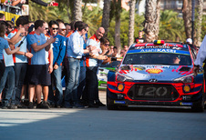 Hyundai is wereldkampioen na annulatie rally van Australië