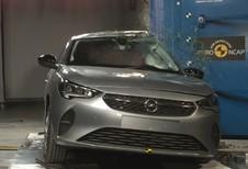 EuroNCAP : 4 étoiles pour l'Opel Corsa