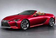 Lexus LC: nu ook als Convertible