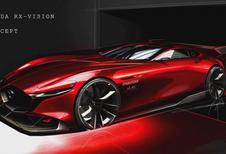 Mazda RX-Vision GT3 Concept: voor op console