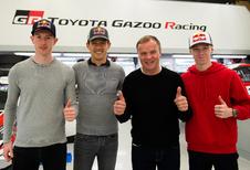 Toyota vernieuwt rallyteam met Ogier, Evans en Rovanperä