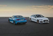 Audi RS 5 Coupé & Sportback: extra dosis agressie