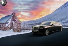 Rolls-Royce Phantom taille paquebot