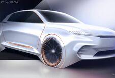 Chrysler Airflow Vision : pour interagir à bord