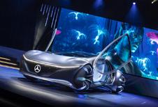 Mercedes Vision AVTR wil Golden Globes