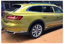 Gelekt: hier is de VW Arteon Alltrack Shooting Brake - Update