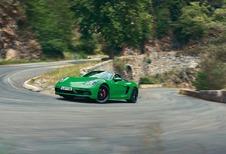 Porsche 718 Boxster en Cayman als GTS 4.0
