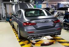 Gelekt: Mercedes E-Klasse als E63 AMG
