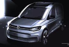 Volkswagen Caddy : les dessins avant le dévoilement