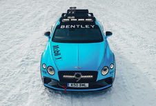 Bentley Continental GT als Ice Race Concept