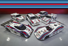Heerlijke collectie legendarische Martini Racing Lancia's te koop