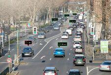 Audi's communiceren met verkeerslichten in Düsseldorf
