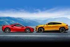 Recordverkoop voor Ferrari en Lamborghini