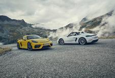 Zo maakt Porsche de 718 GT4 en de Boxster Spyder nog sneller