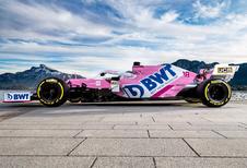 F1 2020: Racing Point blijft roze kleuren trouw