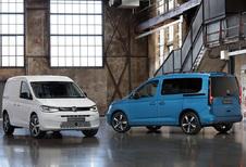 Volkswagen presenteert nieuwe Caddy, de Life en Maxi volgen in 2021