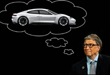 Bill Gates wil geen Tesla, koopt elektrische Porsche Taycan