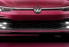 Na de GTD toont Volkswagen nu ook een stukje van de Golf GTI