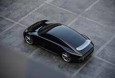 Hyundai Prophecy mixt Tesla met Taycan