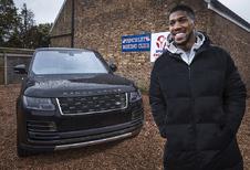 Bokskampioen Anthony Joshua krijgt unieke Range Rover SVA