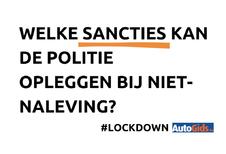 Lockdown: Welke sancties kan de politie opleggen?